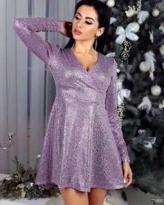 Платье короткое нарядное Ш8266
