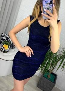 Платье короткое облегающее Я1215