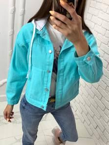 Джинсовая куртка Я7501