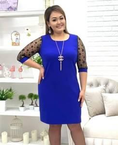 Платье короткое нарядное Я8555