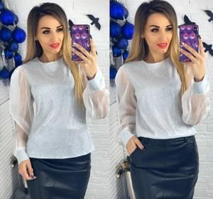 Блуза с длинным рукавом Ю1503