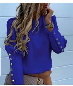 Блуза с длинным рукавом Ю1590