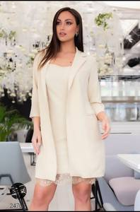 Платье Двойка короткое элегантное Я7836