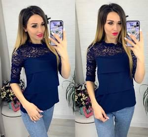 Блуза с коротким рукавом Я0631