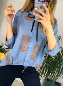 Рубашка с принтом Я3935