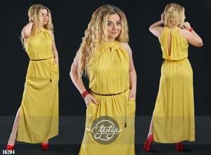 Платье длинное летнее Я5022