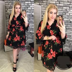 Платье короткое нарядное Я9214