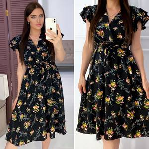 Платье короткое нарядное Я9505