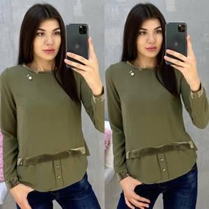 Блуза с длинным рукавом А07649