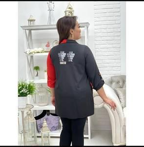 Рубашка с принтом А29068