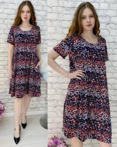 Платье короткое повседневное А30458