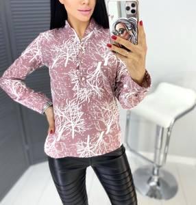 Блуза с длинным рукавом А31451