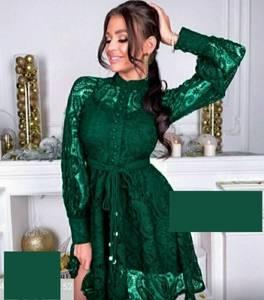 Платье короткое нарядное А31575