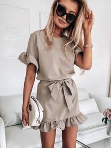 Платье короткое современное А39186