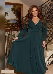Платье длинное нарядное А55040