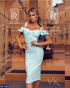 Платье короткое облегающее Ч3052