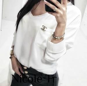 Блуза с длинным рукавом Ч4823