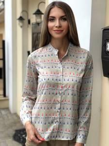 Рубашка с длинным рукавом Ш0794