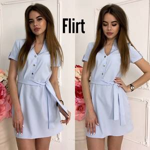 Платье короткое летнее Ш2783