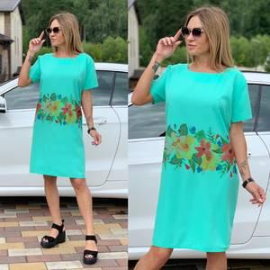 Платье короткое летнее Ш3767