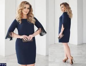 Платье короткое нарядное Ш8152