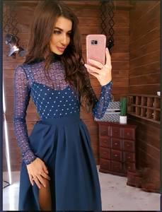 Платье длинное нарядное Ю2571