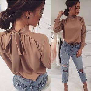 Блуза с длинным рукавом Ю2632