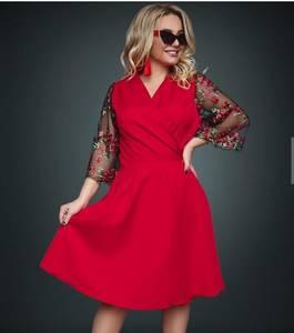 Платье короткое нарядное Ю2642