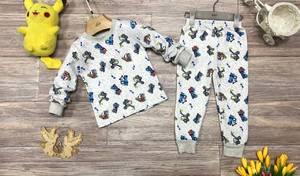 Пижама на флисе Ш0371