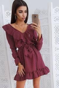 Платье короткое нарядное Ю3075