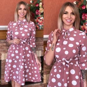 Платье короткое современное Ю6493