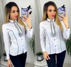 Рубашка белая Ю8955