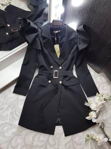 Платье короткое с длинным рукавом Я0229
