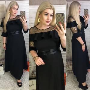 Платье длинное нарядное Ш7400