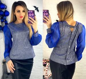 Блуза с длинным рукавом Ю1505