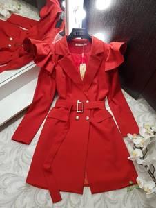 Платье короткое с длинным рукавом Я0230