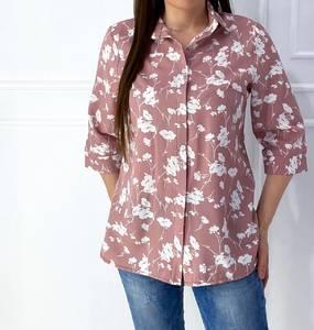 Рубашка с принтом Я5585