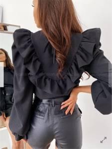 Блуза черная Ш8030