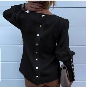 Блуза с длинным рукавом Ю1591