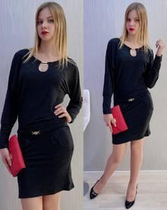 Платье короткое нарядное Я9501