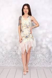Платье короткое нарядное Ч3082