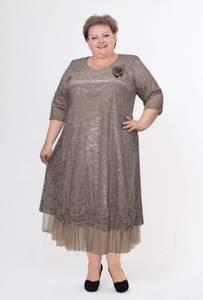 Платье короткое нарядное Ю3821