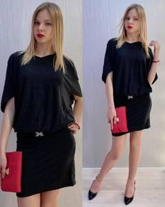 Платье короткое нарядное Я9502
