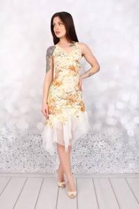 Платье короткое нарядное Ч3083