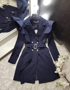Платье короткое с длинным рукавом Я0233