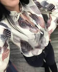 Блуза с длинным рукавом Я1444