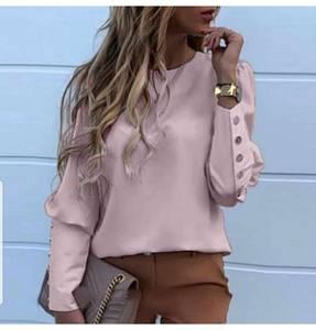 Блуза с длинным рукавом Ю1592
