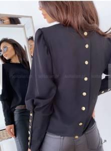 Блуза черная Ш8032