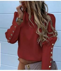 Блуза с длинным рукавом Ю1593