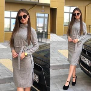Платье короткое с длинным рукавом Ю3824